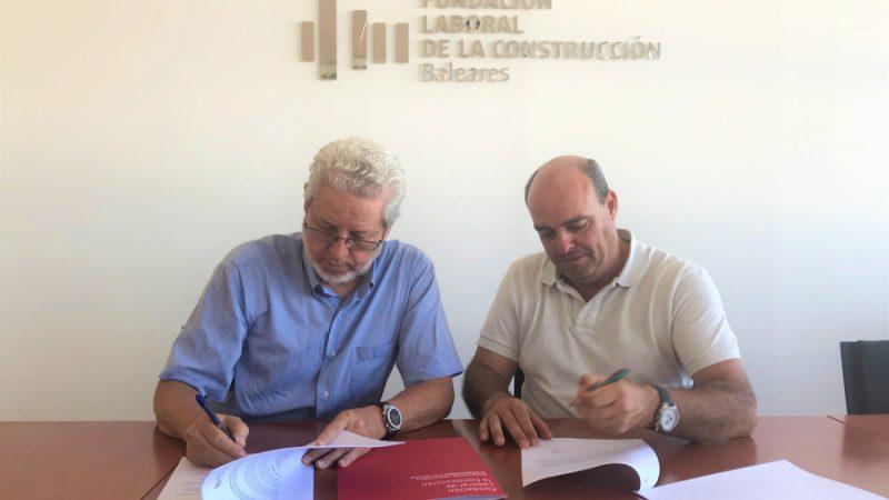 Eduardo López, Presidente de Constructores y Climent Olives, Pesidente de la Fundación