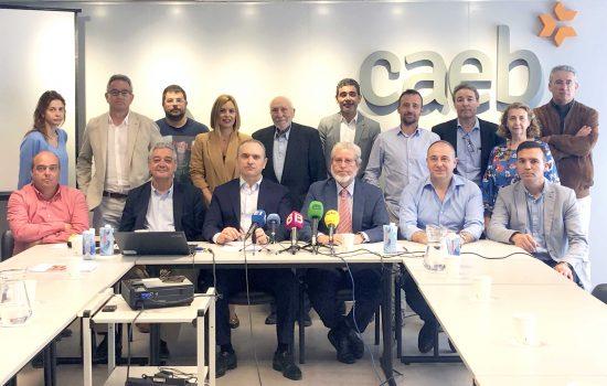 """Presidentes y representantes de las diferentes organizaciones empresariales de Balears del Sector, han presentado la """"Nueva propuesta para el desarrollo de una política integrada en urbanismo, vivienda e infraestructuras para Balears""""."""